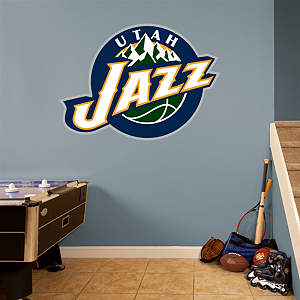 Utah Jazz Logo Fathead Wall Decal